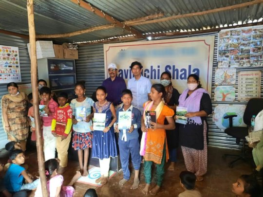 Distribution of various books