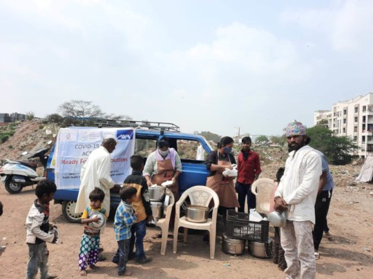 Distribution of Ready made food