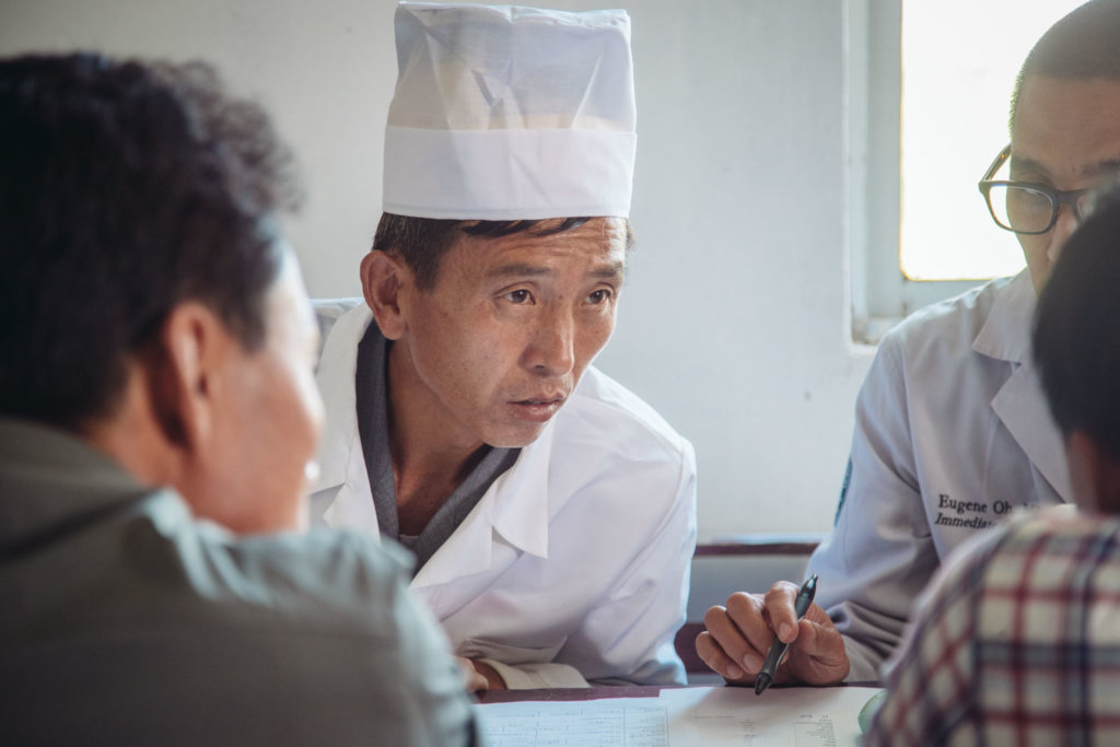 Seeing patients in DPRK