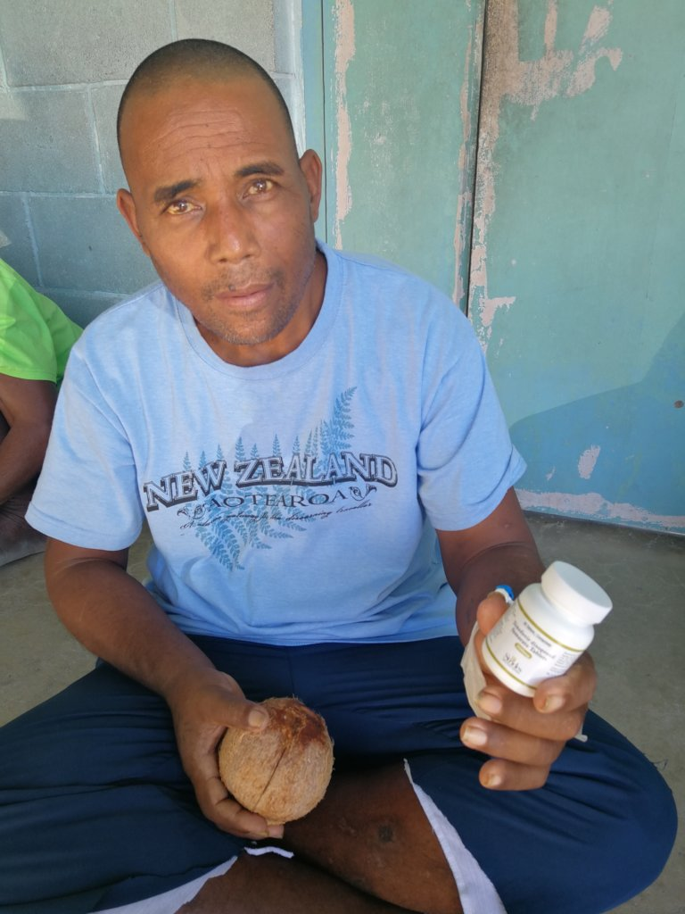 Hep B patient in Kiribati (with permission)