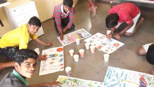 Painting Competition focused on Climate Change