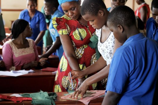 Workshop for making of sustainable Sanitary Pads