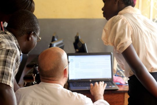 "Installation ""URIDUPEDIA for Schools"" in Uganda"