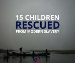 Our rescue team rescued 12 boys and 3 girls.