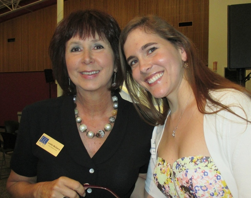Leslie, Donor Relations Dir. with Natalee