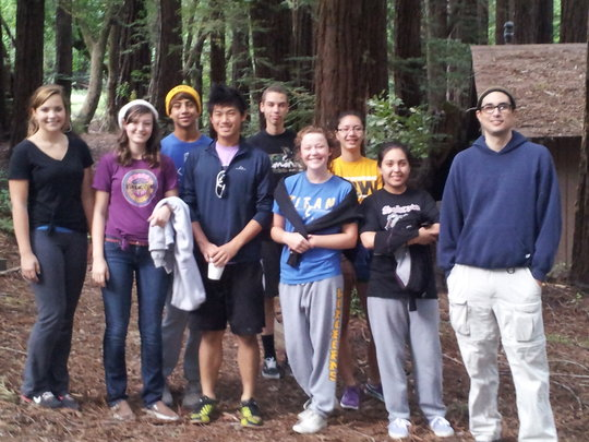 Leigh High School students at Camp Everytown