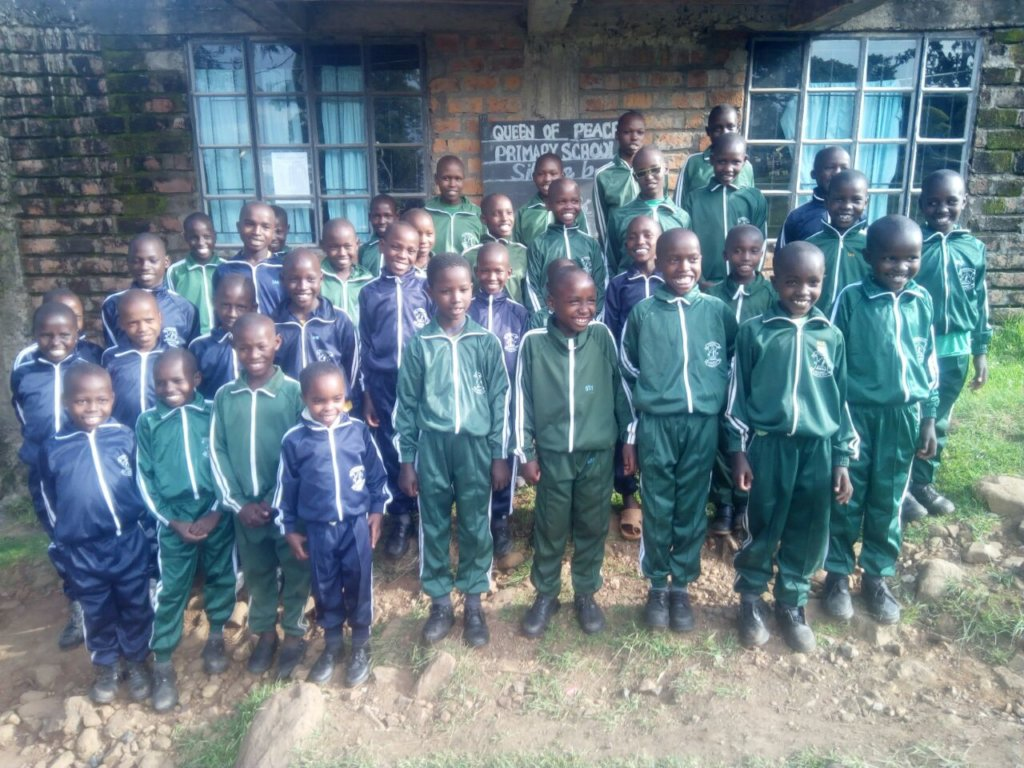 The Kids in their New Track Suits