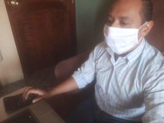 ATC promotes working from home & masks