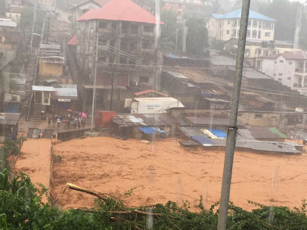 Provide Flood and Landslide Relief in Sierra Leone