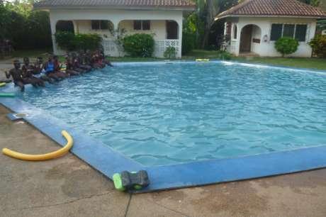 Empower 800 Deaf Kids in Ghana through Swimming