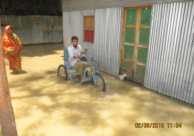 Emergency  Relief for Flooded Damaged recovery