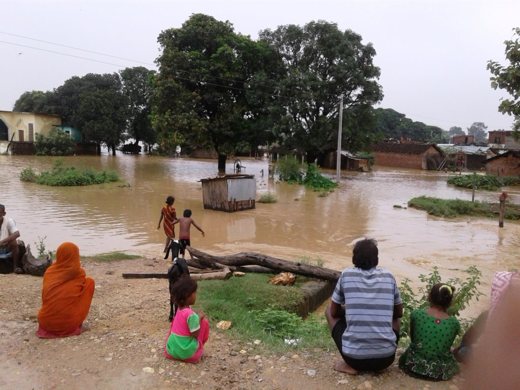 Recovery support to flood victims in Nepal