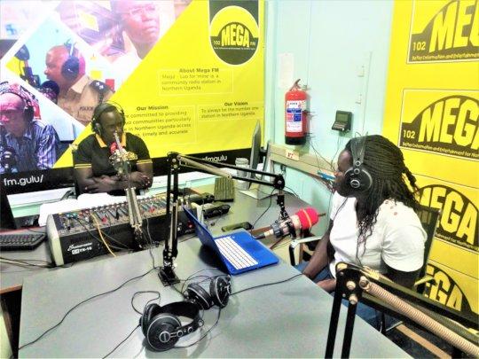 Backup Uganda on air