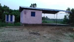 Almost completed Community Shelter