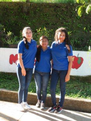 Katherine, Dania, and Eva