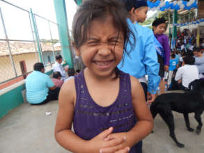 Happy Student at Bilingual School