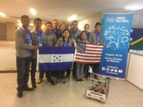 2018 Honduran Robotics Team Arriving in Mexico