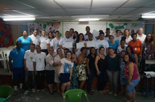 2015 Graduation at Instituto Bola Pra Frente