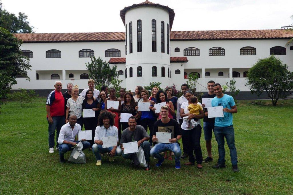 2016 Graduation at Abrigo Rainha Silva