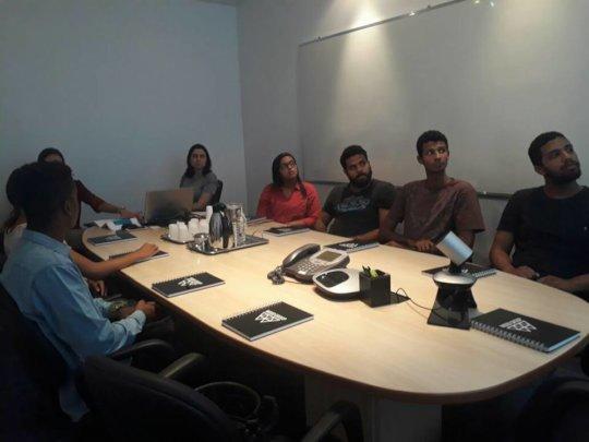 Workshop delivered by HR professionals at Wood