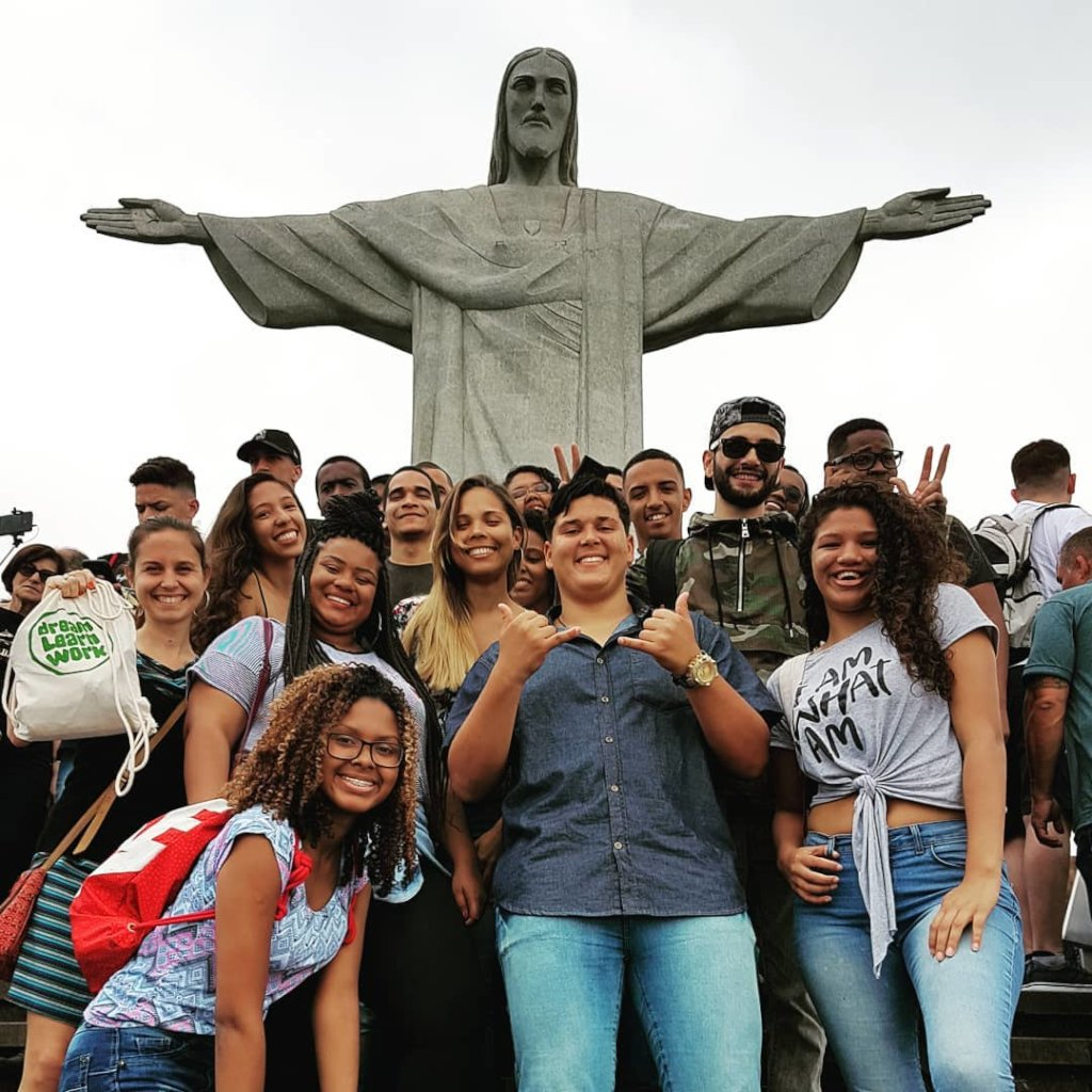 Our participants at Christ the Redeemer