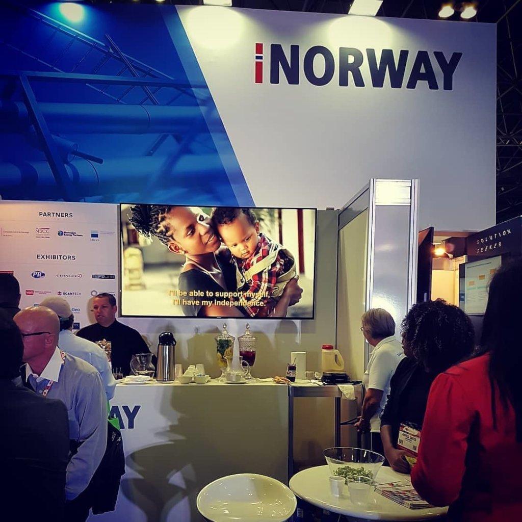 """""""Brilliant future"""" at the Norwegian Pavilion"""