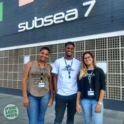 Marceli, Romulo and Karol, hired at Subsea 7.