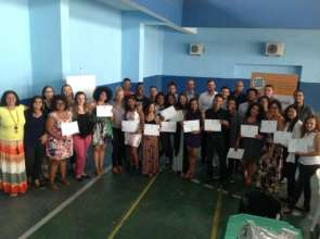 Graduation at Bola Pra Frente