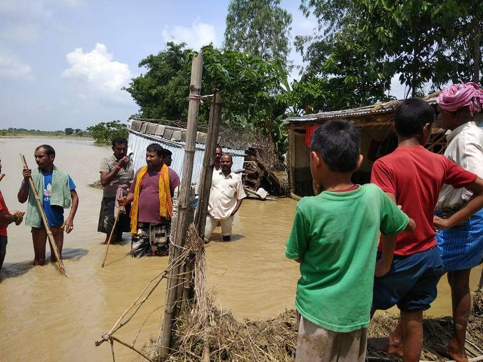 Rebuild the home & livelihood of 100 flood victims