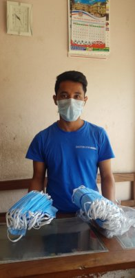 Dhanendra sources PPE in Nepal