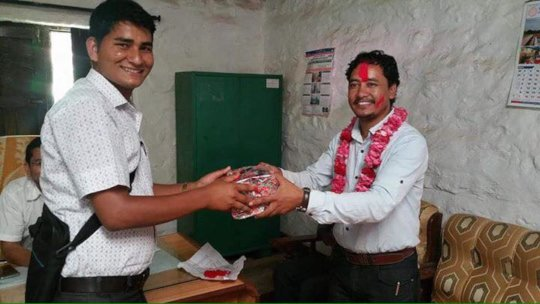 Rukum District Hospital says goodbye to Dr Lalit