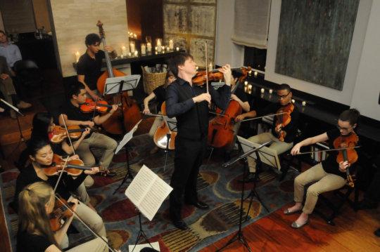 YA Alumnus Joshua Bell with Winners in Music