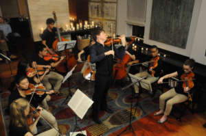 YA Alumnus Joshua Bell with Winners in Music