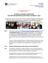 About the YoungArts Application (PDF)