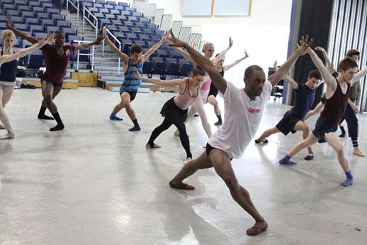 Dance Master Class with Desmond Richardson