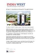 India West Article - Indian American YA Winners (PDF)