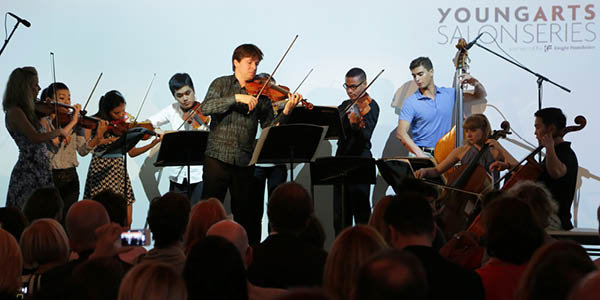Joshua Bell Salon and Performance