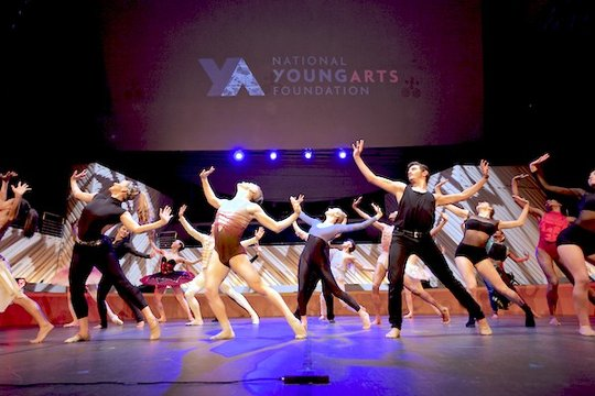 Dance performance at 2014 YoungArts Week