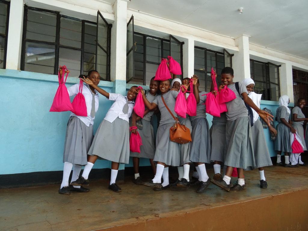 Menstrual Health for 5000 Girls in East Africa