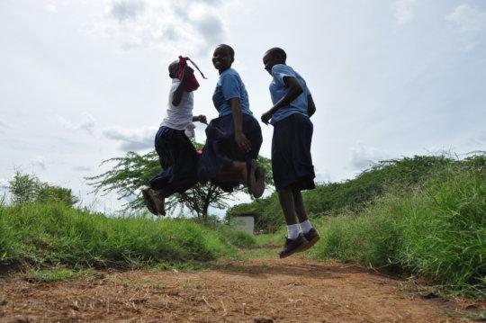 Menstrual Health for 800 Girls in East Africa