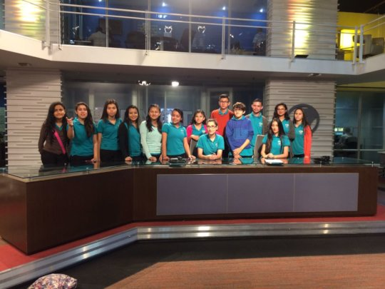 Company visit to Channel 7