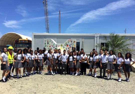 Students visit APM Terminals, Costa Ricas new port