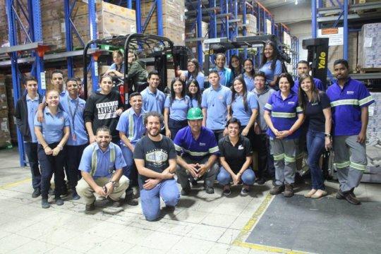 Company visit to Nestle