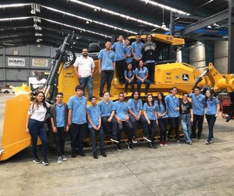 Company visit to John Deere