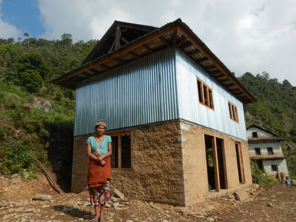Rebuild a Nepali Village Destroyed by Earthquakes