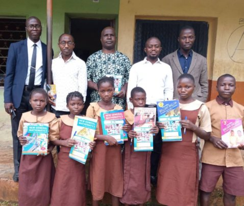 Part of the student beneficiaries
