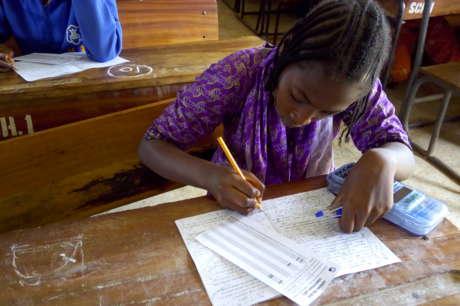 Help 500 Nigerian Teens Go Back to School