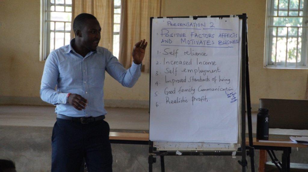 Uplift financial training workshop