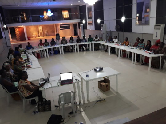 Empowerment Workshop for Widows in Lagos