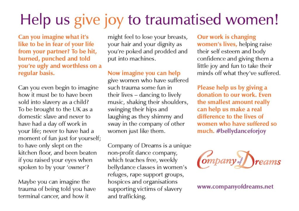 Give joy to victims of abuse, rape and slavery